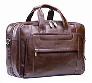 Nevada Italian Leather Computer Bag