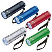 9 LED  Metal Torch Montargis