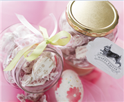 Easter Treat Glass Jar